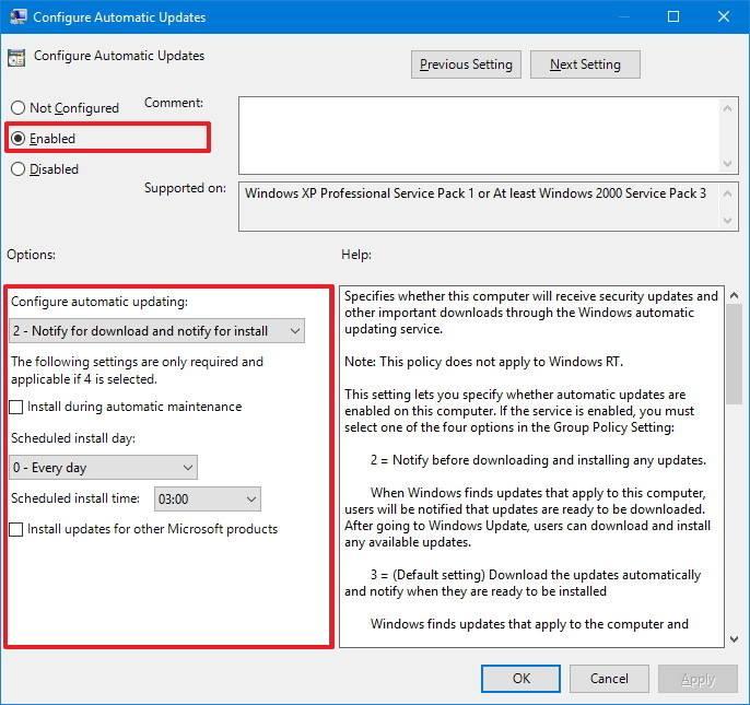 2 1 - Tắt Auto Update trên Windows 10 triệt để
