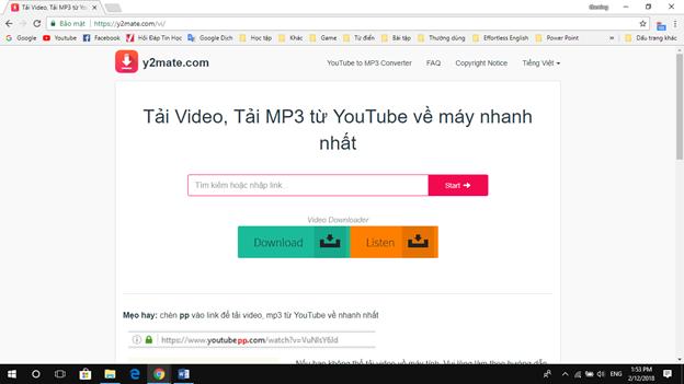 Tổng hợp những cách Download Video nhanh và chất lượng 7