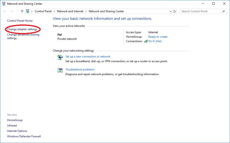 Cách tăng tốc độ truy cập Internet cho Windows 10 13