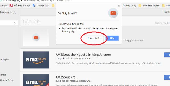 3 - Cách lấy Email (Gmail) hàng loạt từ bình luận Facebook