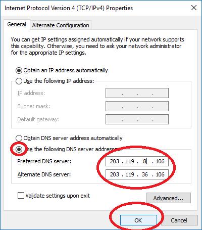 6 3 - Cách tăng tốc độ truy cập Internet cho Windows 10