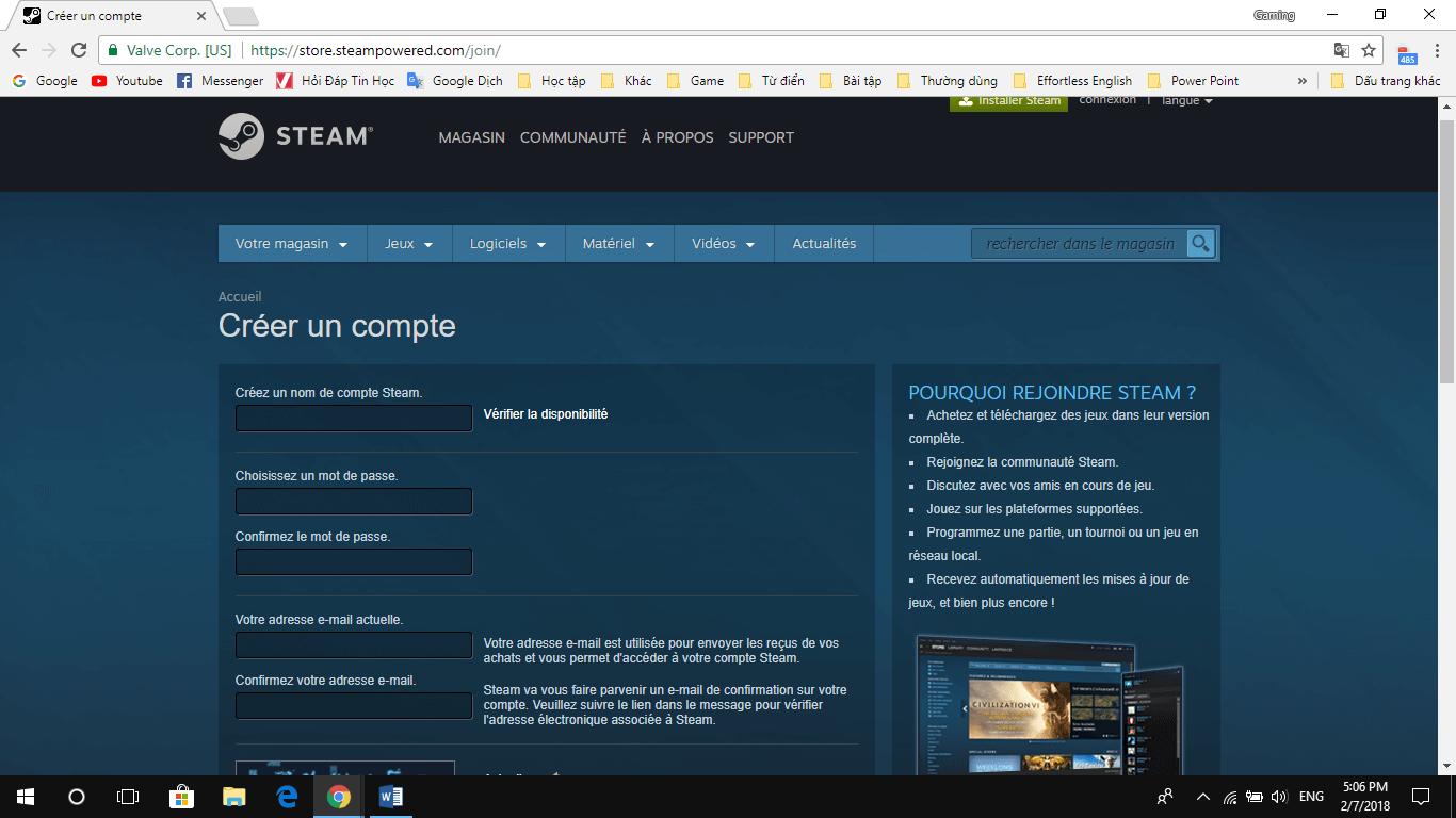 9 2 - Hướng dẫn tải và đăng ký Steam để chơi game bản quyền