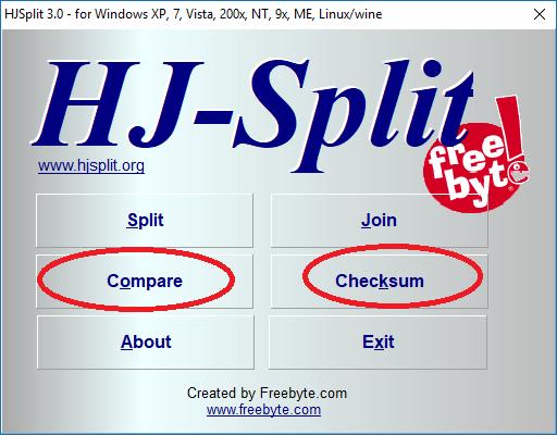 Cách cắt, ghép File đơn giản bằng phần mềm HJsplit 12