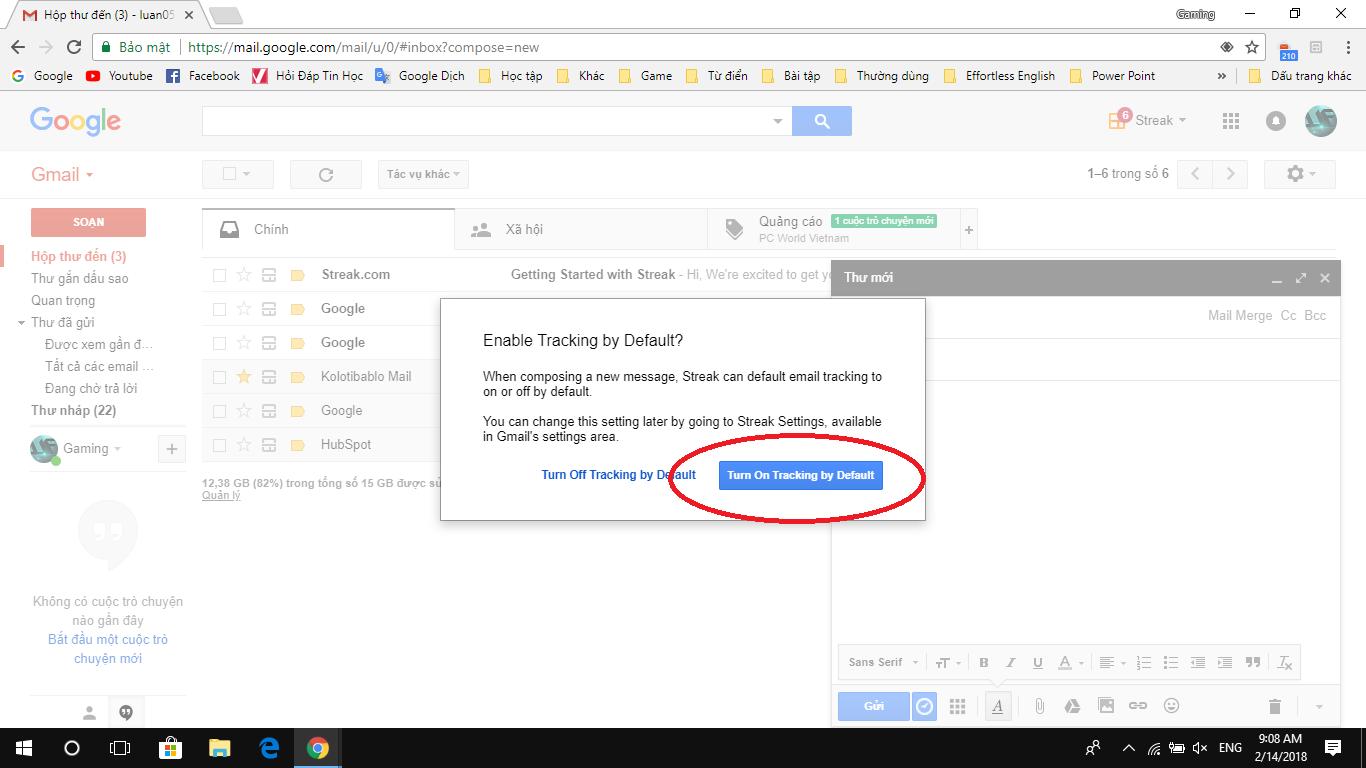 Cách để biết Gmail của bạn khi gửi đi đã được xem hay chưa