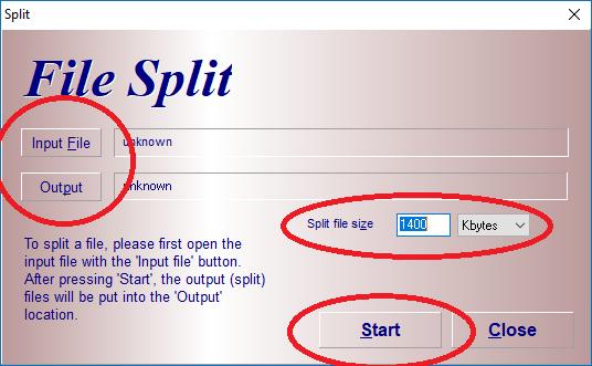Cách cắt, ghép File đơn giản bằng phần mềm HJsplit 7