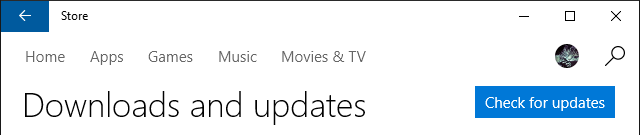 Windows Store Check for Updates 640x135 - Tắt Auto Update trên Windows 10 triệt để