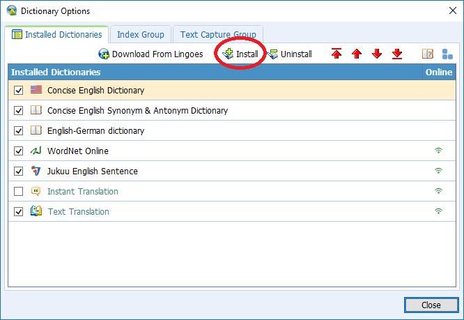 a 10 - Hướng dẫn cài đặt Lingoes - Phần mềm tra từ điển tốt nhất