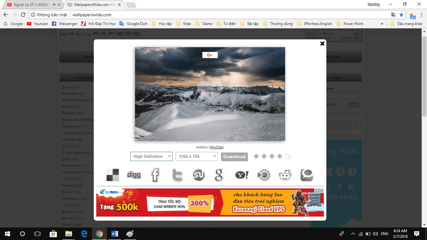anv5 - Giới thiệu website cung cấp hình ảnh HD miễn phí đủ thể loại