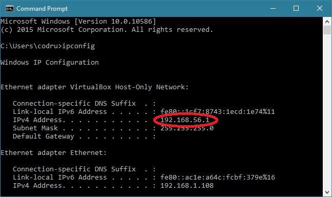 cmd networking 0 1 - Những kiến thức hack cơ bản nên biết - Phần 1