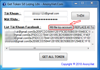 hdgettokensll2 - Share Tool Facebook đa chức năng 2018 by AnonyViet