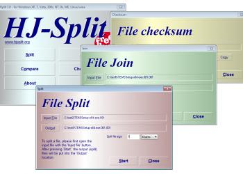 Cách cắt, ghép File đơn giản bằng phần mềm HJsplit 1