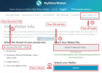 Cách tạo ví ETH bằng MyEtherWallet 13