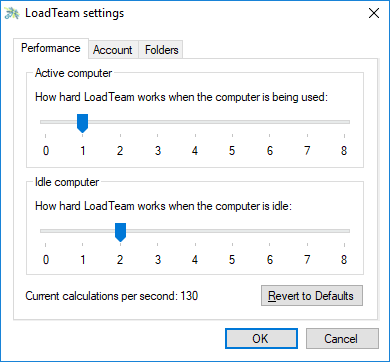 performance tuning - [Tặng 0.6$] Cách treo máy kiếm tiền với LoadTeam
