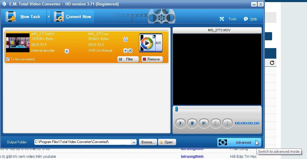Hướng dẫn sử dụng Total Video Converter