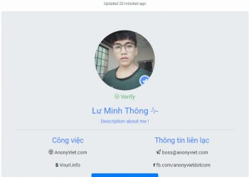share miễn phí code web profile