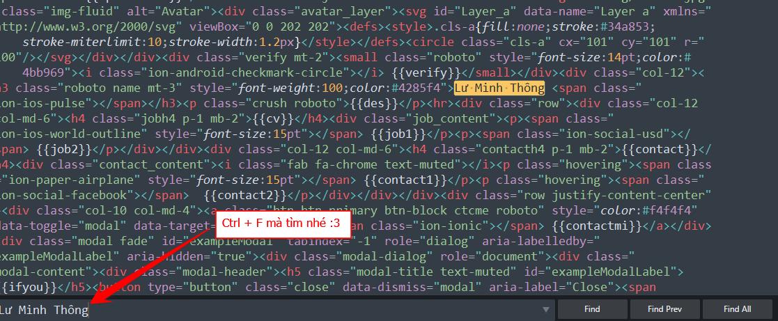 Share miễn phí bộ Code web Profile Page cực đẹp 7