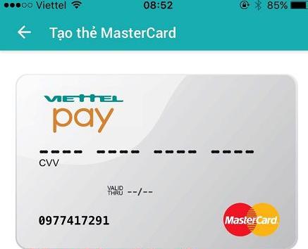 Cách tạo thẻ MasterCard ảo để thanh toán Online Quốc tế 12