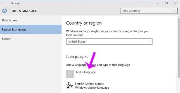 Hướng dẫn đổi ngôn ngữ sang tiếng việt cho Windows 10