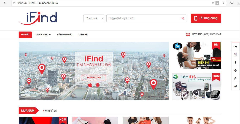 Săn ưu đãi cực nhanh - mua sắm online siêu rẽ với ifind