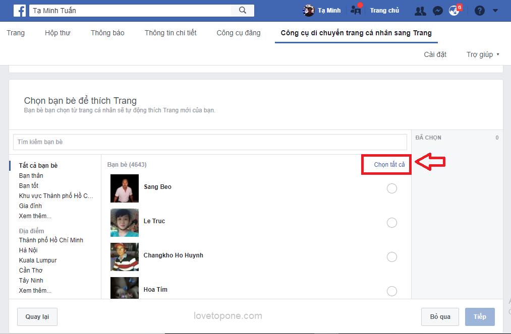 Cách tạo mới Facebook cá nhân thành Fanpage mới nhất 18