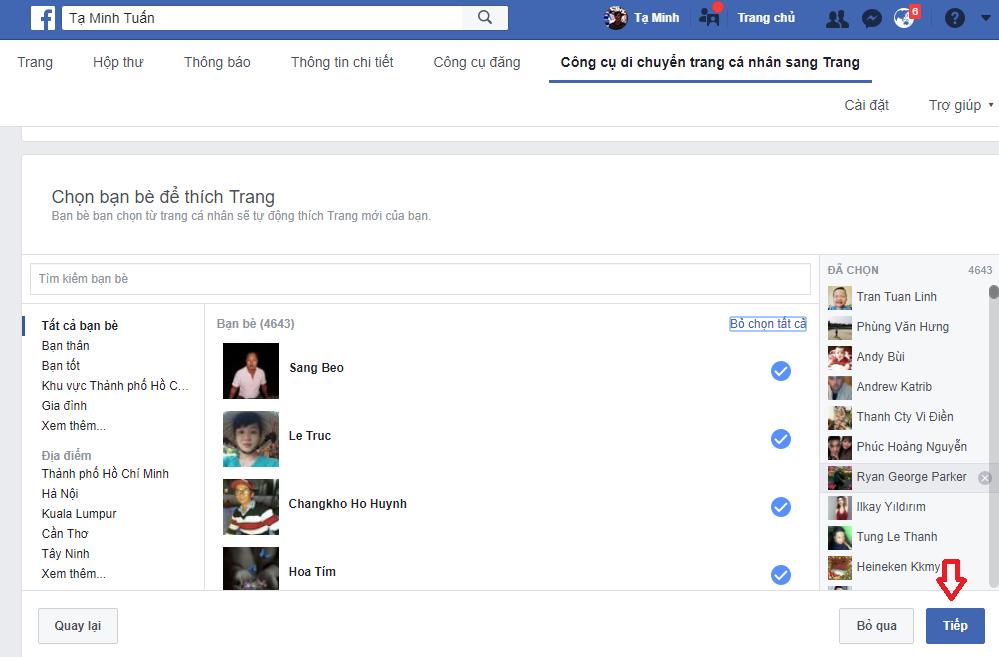 Cách tạo mới Facebook cá nhân thành Fanpage mới nhất 19