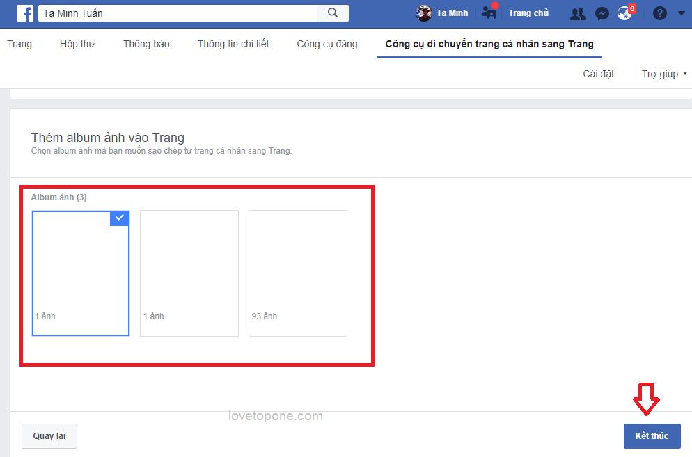 Cách tạo mới Facebook cá nhân thành Fanpage mới nhất 20