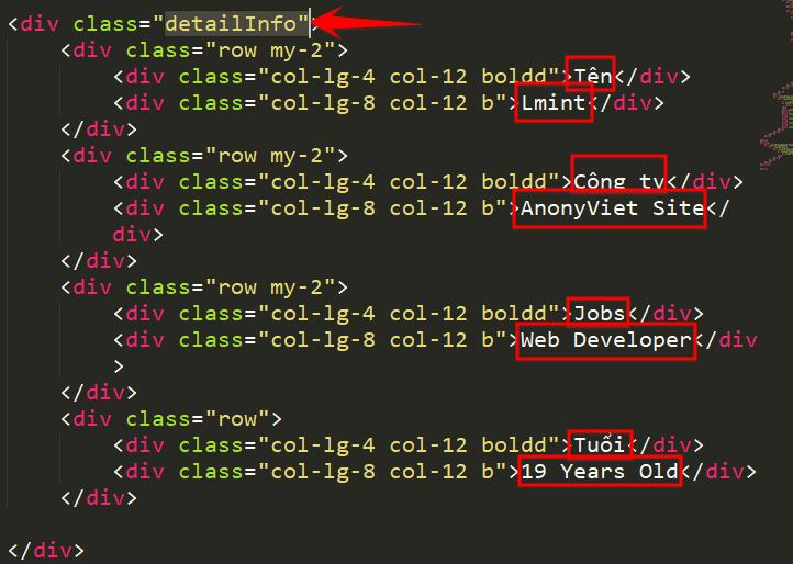 Share Code Web giới thiệu bản thân AboutMe2 cực đẹp 21