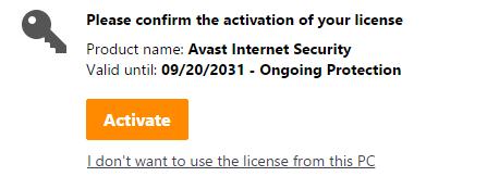 KEY bản quyền phần mềm diệt Virus Avast mới nhất 2018