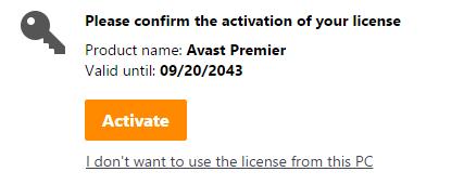 KEY bản quyền phần mềm diệt Virus Avast mới nhất 2018 8
