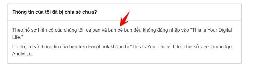 Cách kiểm tra Facebook của bạn có bị rò rỉ dữ liệu hay không 3