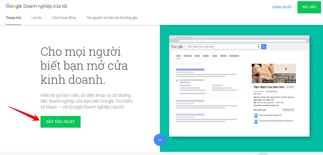 Hướng dẫn đưa địa chỉ công ty lên Google Map