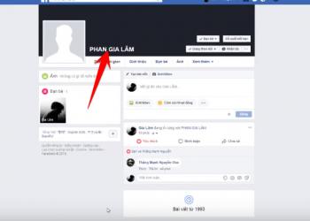 Hướng dẫn đổi tên Facebook IN HOA 1