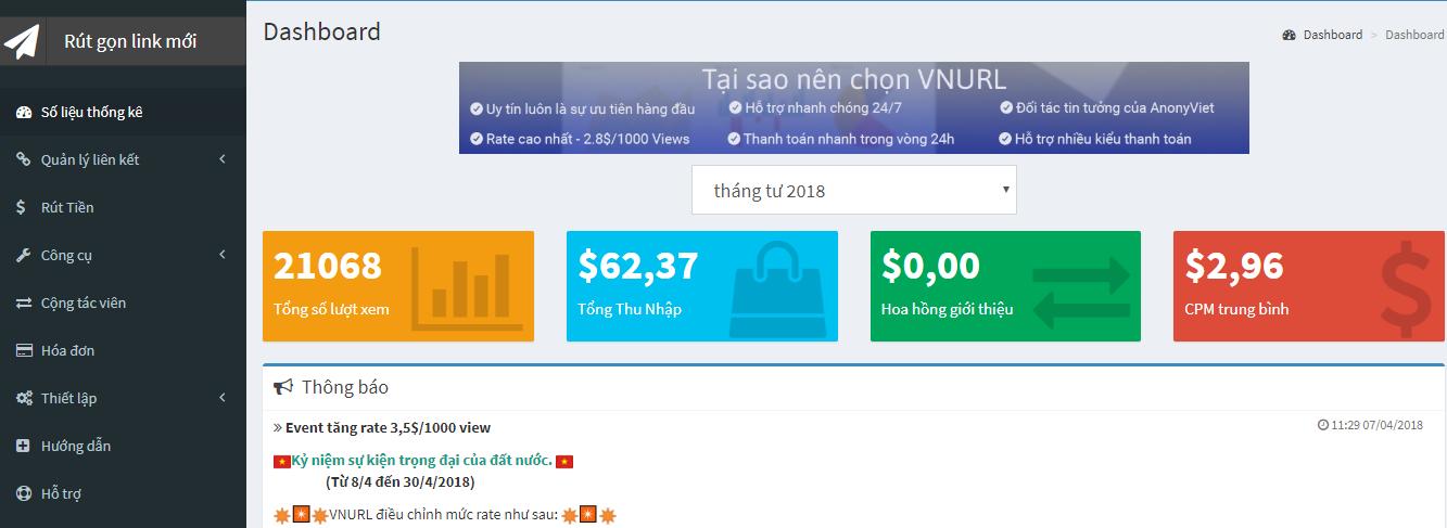 Kiếm tiền Online bằng Link rút gọn như thế nào mới hiệu quả ?