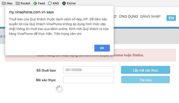 Cách đăng ký thông tin thuê bao Viettel, Vinaphone, Mobifone, Vietnamobile Online 23