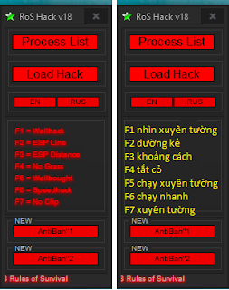 T4IW7t3 - Tool Hack ROS - Hack Rules of Survival (Updated 23/4/2018)