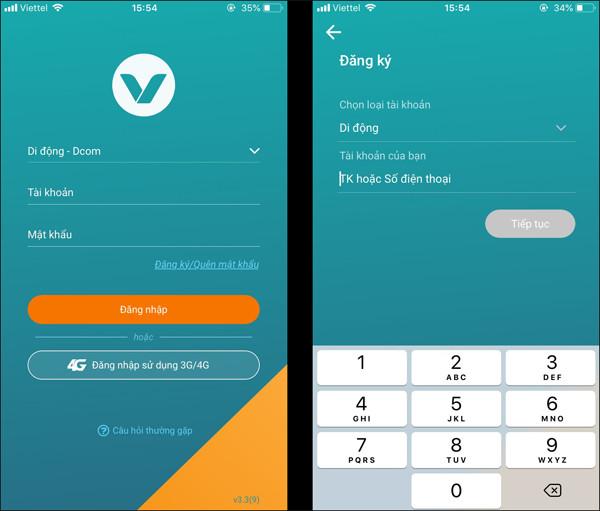Cách đăng ký thông tin thuê bao Viettel, Vinaphone, Mobifone, Vietnamobile Online 22