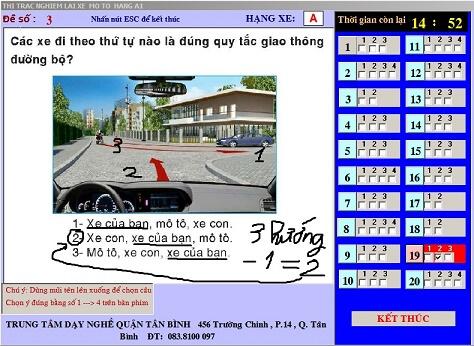 Mẹo thi bằng lái xe máy (A1) bảo đảm đậu 100% 42