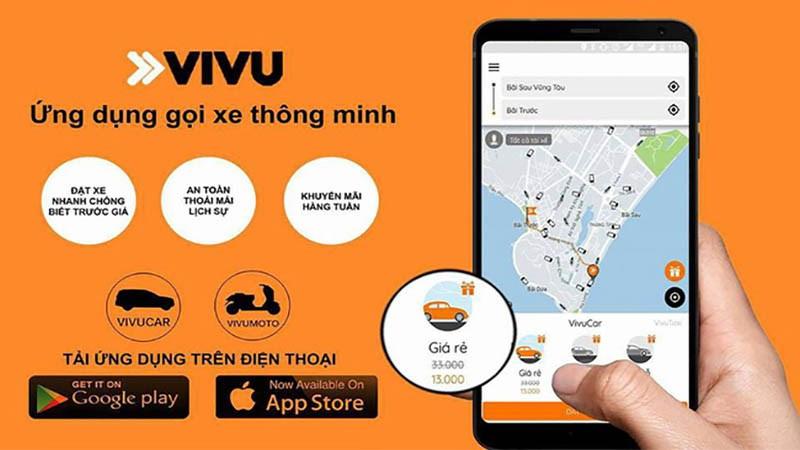 Hướng dẫn đi Taxi xe ôm miễn phí với VATO 10