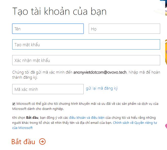 Cách tạo tài khoản OneDrive 5TB miễn phí dùng vĩnh viễn 24