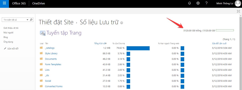 Cách tạo tài khoản OneDrive 5TB miễn phí dùng vĩnh viễn 35