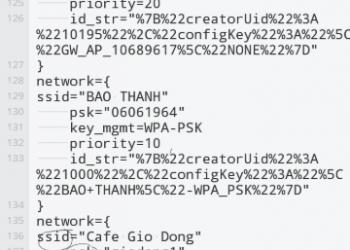 Cách xem lại mật khẩu wifi đã lưu trên điện thoại Android 1