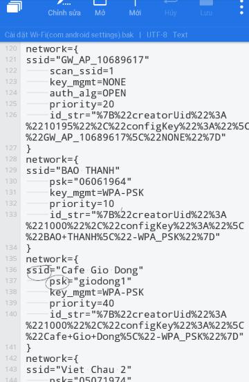 14 05 2018 05 56 46 - Cách xem lại mật khẩu wifi đã lưu trên điện thoại Android