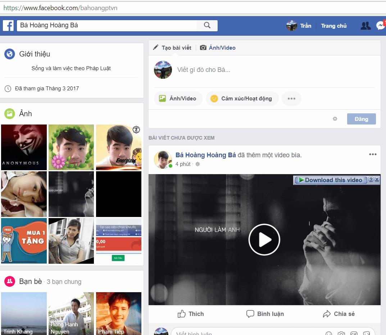 Hướng dẫn cách ẩn ảnh bìa và ảnh đại diện tạm thời facebook