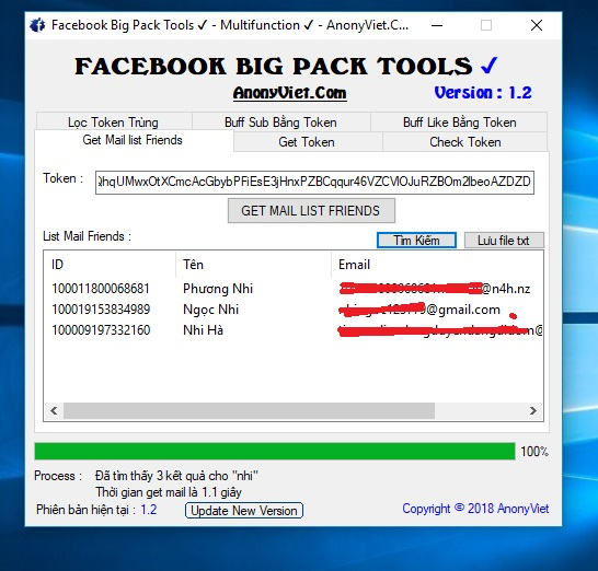 Facebook Big Pack Tools Version 1.6 by AnonyViet 41