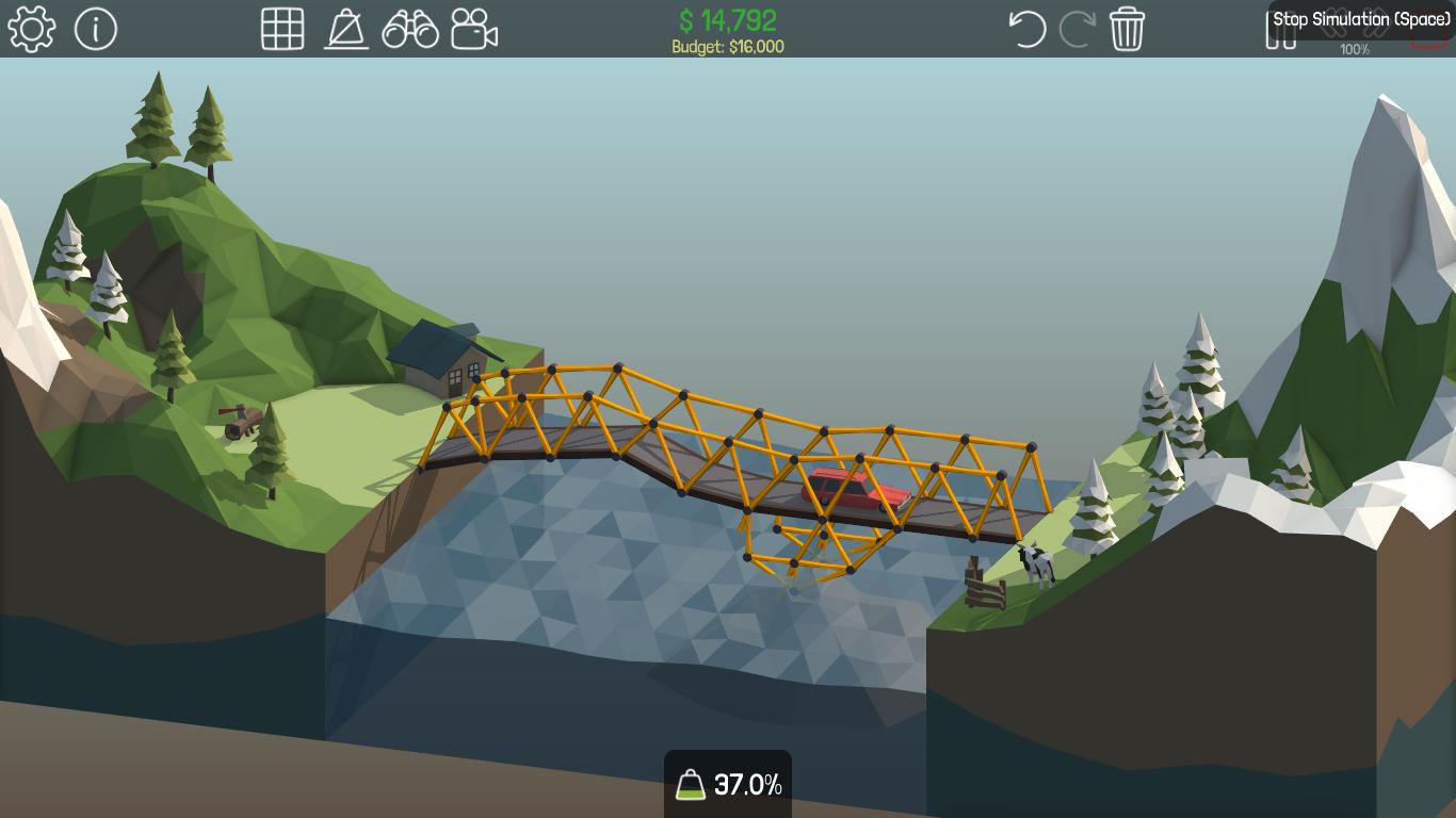 Untitled 6 - Tải game Poly Bridge mô phỏng xây cầu độc đáo trên PC