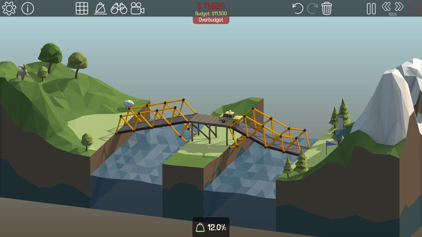 Tải game poly bridge xây cầu độc đáo