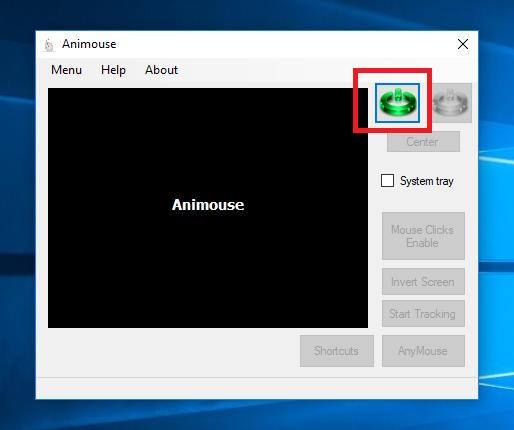 Điều khiển chuột bằng khuôn mặt với Animouse 10