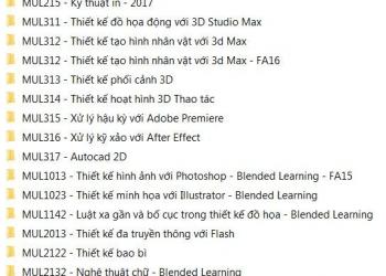 Share bộ giáo trình học thiết kế đồ họa khủng nhất Việt Nam 2