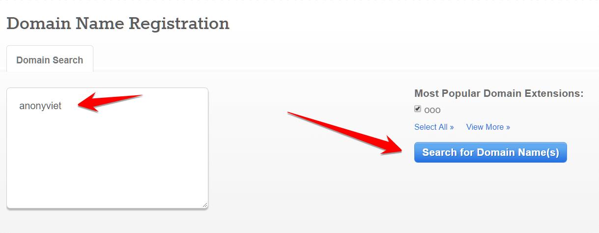 Hướng dẫn đăng ký Domain .ooo miễn phí 25