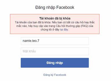 làm tài khoản facebook bị khóa chỉ với 1 bức ảnh